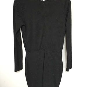 Marciano Dresses - Marciano Jana Studded Wrap Dress - BLACK